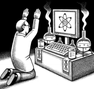 Andy Singer dessinateur américain - scientisme